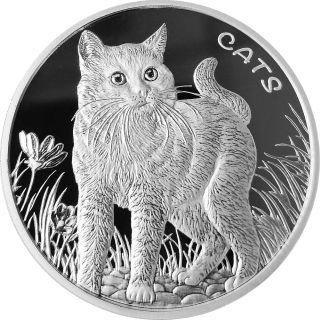 1 Unze Silber Fiji Cats 2021