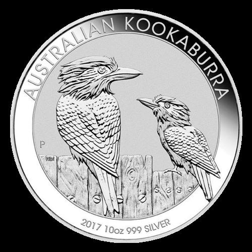 10 Unzen Silber Kookaburra 2017