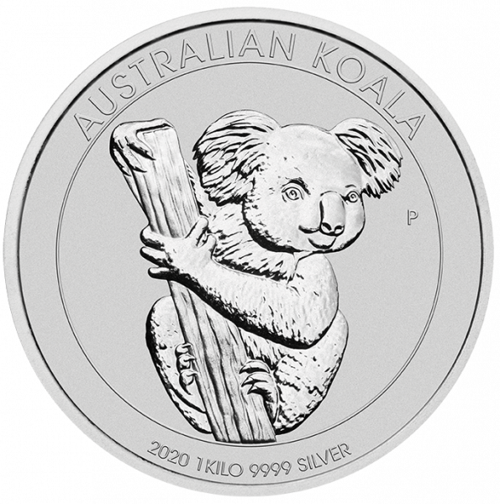 1 kg Silber Australian Koala 2020