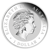 1 kg Silber Kookaburra 2014