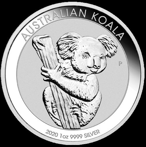 1 Unze Silber Australian Koala 2020