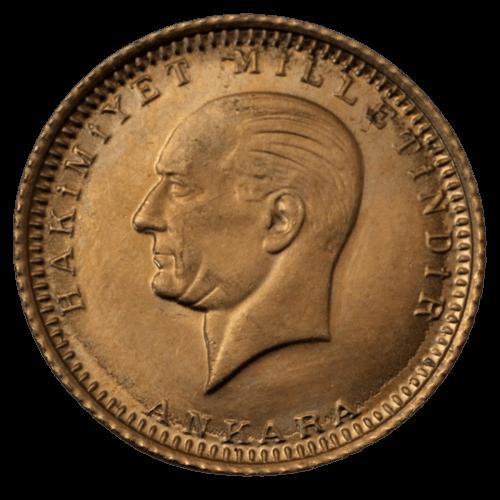 1,65 g Gold Türkei 25 Kurush Piaster