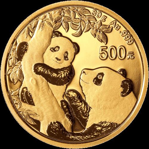 30 g Gold China Panda 2021