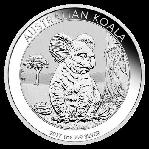 1 Unze Silber Australian Koala 2017