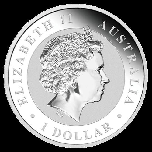 Rückseite der 1 Unze Silbermünze Australian Koala | Rückseite Silbermünze 1 Unze 2014 Australian Koala von The Perth Mint Australia