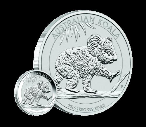 1 Kg Silber Australian Koala 2016