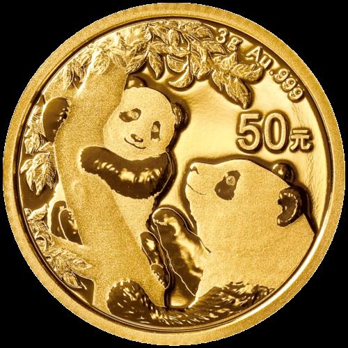 3 g Gold China Panda 2021