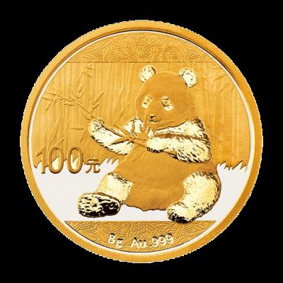 8 g Gold China Panda 2017