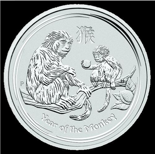 1 kg Silber Lunar Affe 2016
