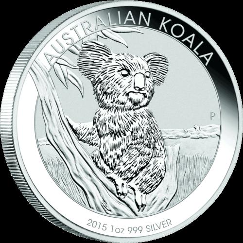 1 Unze Silber Australian Koala 2015