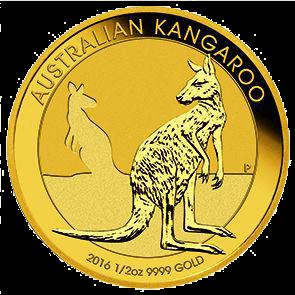 1/2 Unze Gold Australian Känguru 2016