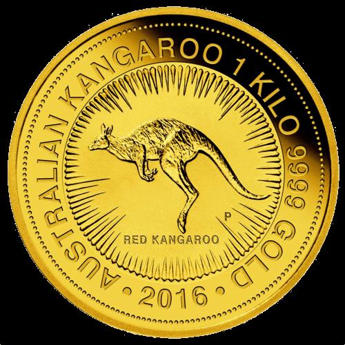 1 Kg Gold Australian Känguru 2016