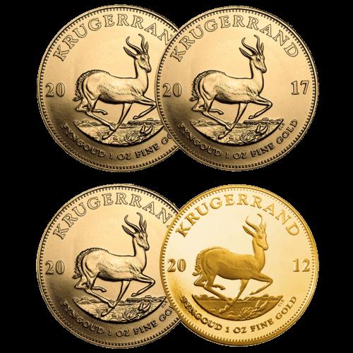 Vorderseite der 1 Unze Goldmünze Krügerrand | Vorderseite Goldmünze Krügerrand 1 Unze von South African Mint