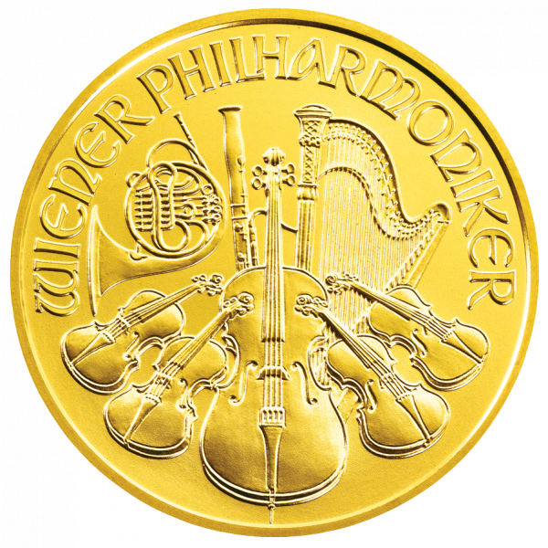 1/10 Unze Gold Wiener Philharmoniker 2021 (lagernd Frankfurt)