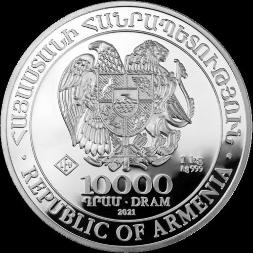 1 kg Silber Armenien Arche Noah 2021