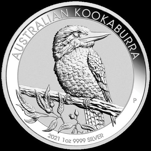 1 Unze Silber Kookaburra 2021
