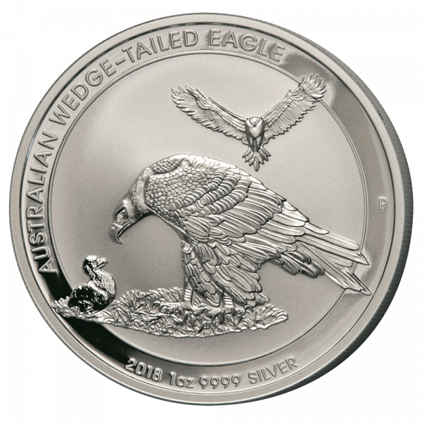 1 Unze Silber Wedge Tailed Eagle 2018