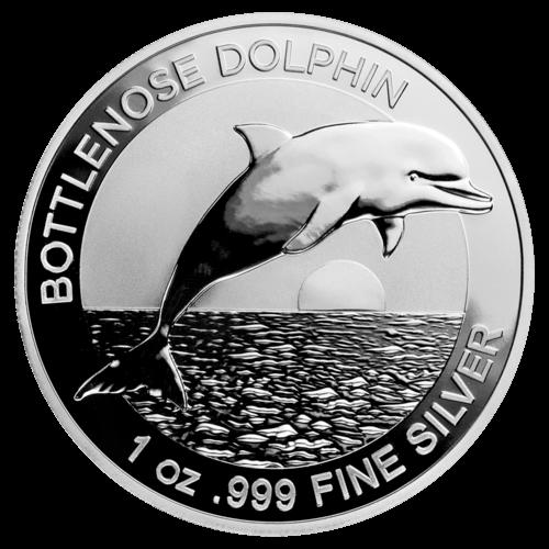 1 Unze Silber Australien Bottlenose Dolphin 2019