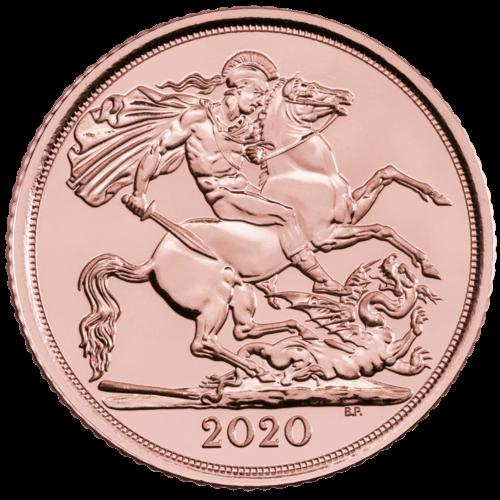 3,66 g Gold Half Sovereign diverse Jahrgänge