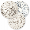 10 DM Silber Gedenkmünzen 1970 bis 1972 & 1987 bis 1997