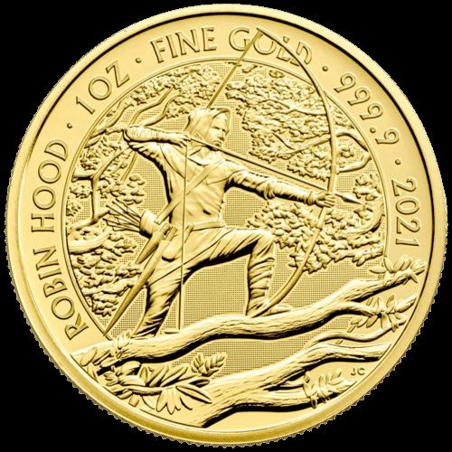 1 Unze Gold Mythen und Legenden Robin Hood 2021