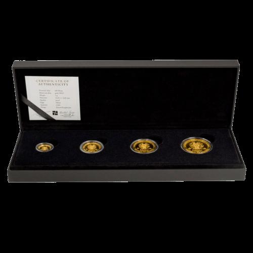 Münzset Gold Armenien Arche Noah 2017 in Proof Qualität
