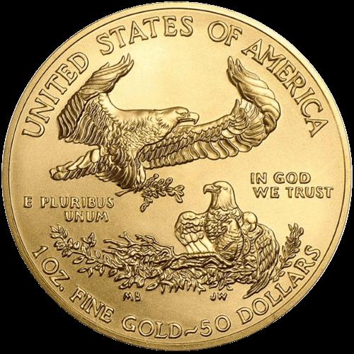1 Unze Gold American Eagle 2020