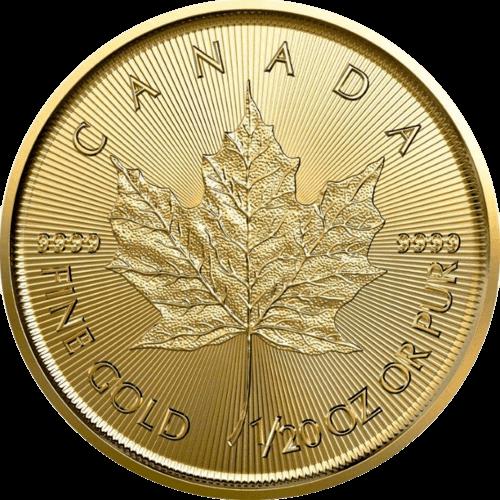 1/20 Unze Gold Maple Leaf 2021