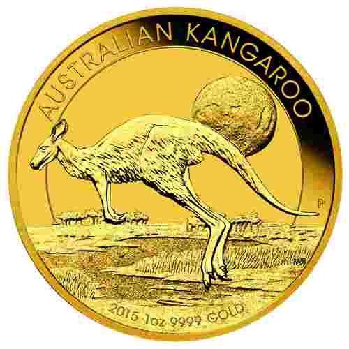 1/10 Unze Gold Australian Känguru 2015