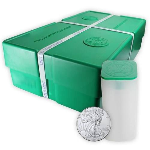 Masterbox für 500 Silber American Eagle Münzen
