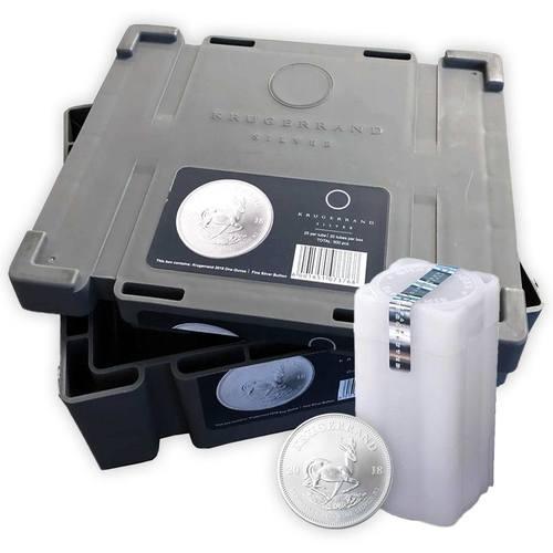 Masterbox für 500 x 1 Unze Silber Krügerrand Münzen