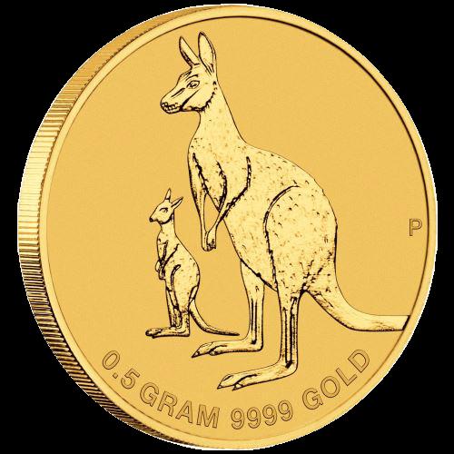 0,5 Gramm Gold Australien Mini Roo 2020