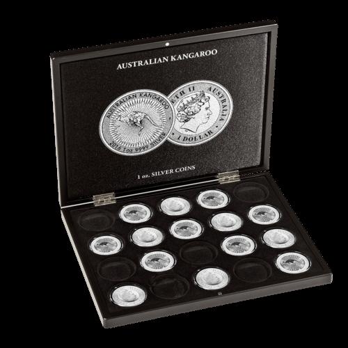 Münzkassette für 20 x 1 Unze Silber Känguru