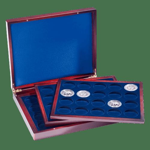 Münzkassette VOLTERRA trio deluxe für 60 Münzen bis 41 mm
