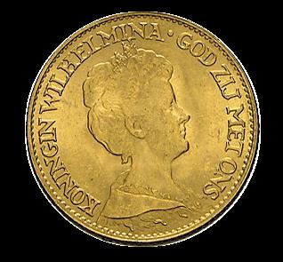 10 Gulden Goldmünze Niederlande diverse Jahrgänge