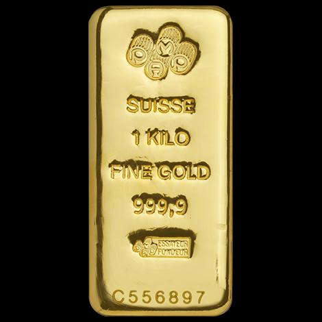 1 kg Goldbarren PAMP Suisse