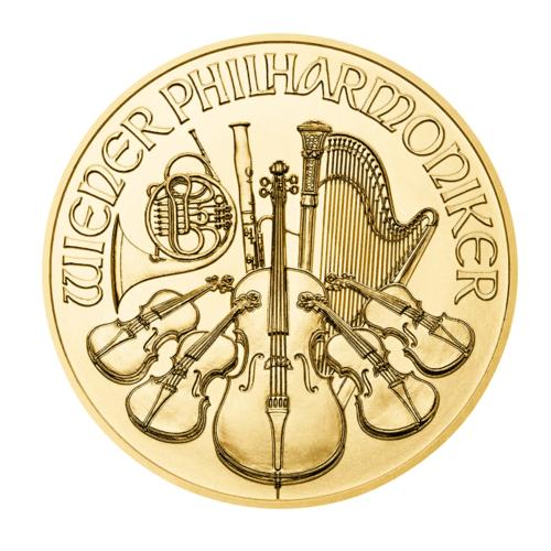 1/25 Unze Gold Wiener Philharmoniker diverse Jahrgänge