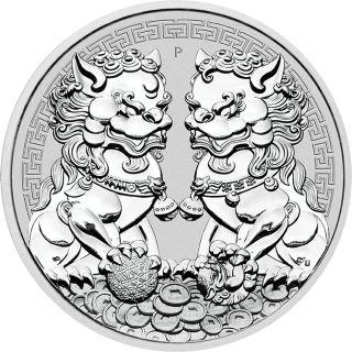 1 Unze Silber Double Pixiu 2020