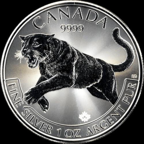 1 Unze Silber Kanada Puma 2016