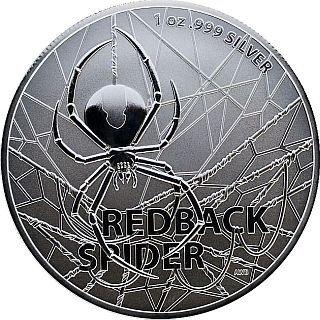 1 Unze Silber Redback Spider 2020