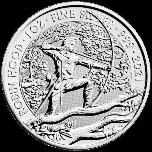 1 Unze Silber Mythen und Legenden Robin Hood 2021