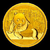 1/4 Unze China Panda Gold 2015 (100 Yuan) / Vorderseite