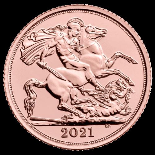 7,32 g Gold Full Sovereign 2021