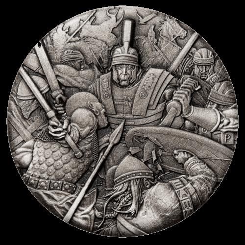 2 Unzen Silber Kriegsführung Römische Legion 2018