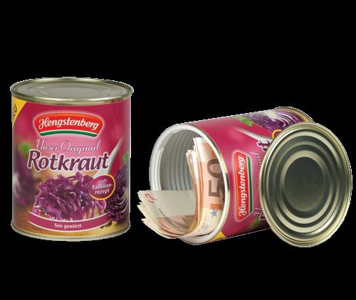 Dosentresor - Konservendose Hengstenberg Rotkraut