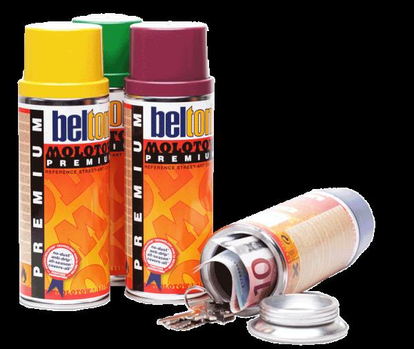 Dosensafe belton-Spray-Dose