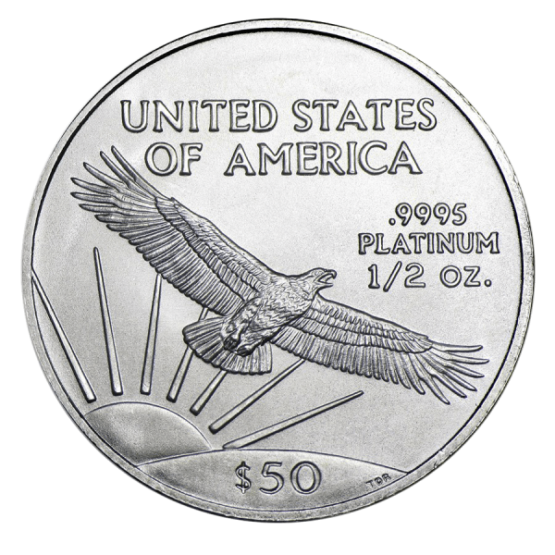 American Eagle 1/2 Unze Platin