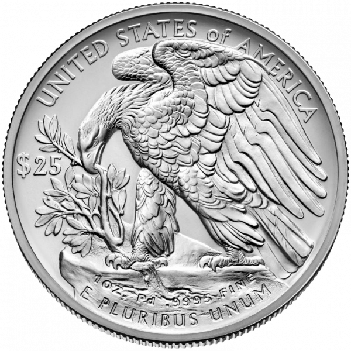 1 Unze Palladium American Eagle diverse Jahrgänge