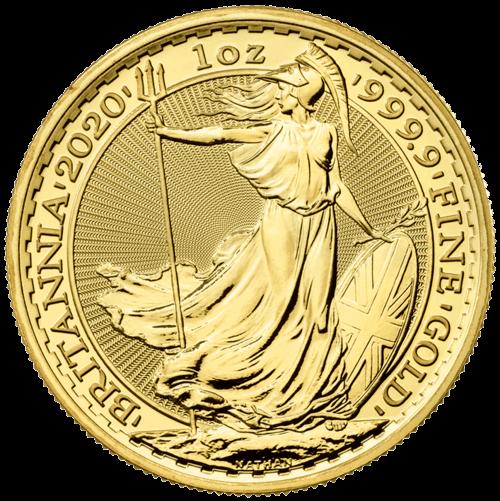 1 Unze Gold Britannia 2021 (lagernd Frankfurt)