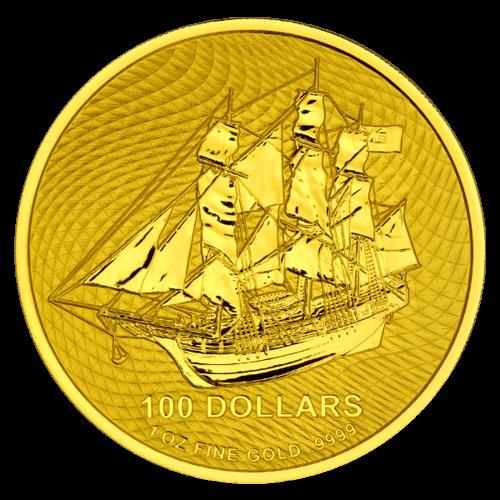 1 Unze Gold Cook Islands 2020